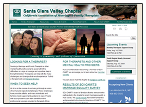 Santa Clara Valley Chapter of the California Assocation of Marriage and Family Therapists (SCV-CAMFT)